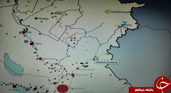 همکاری ایران و آمریکا در استان الانبار؟!+تصاویر