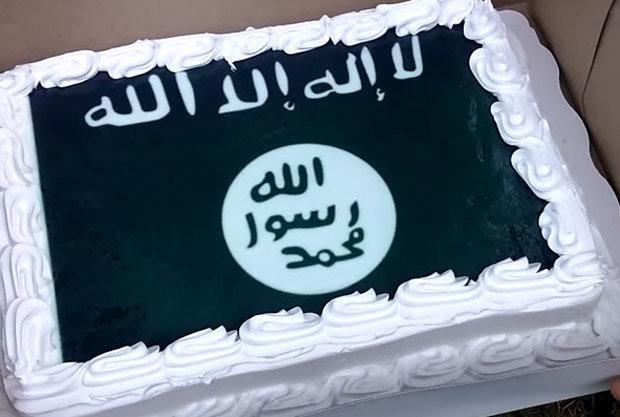 کیک تولد داعش