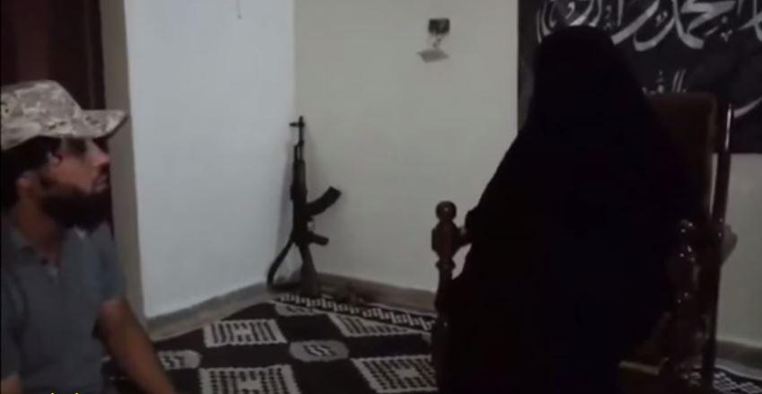 داعشی ها همسر یک تروریست را دزدیدند! + تصاویر