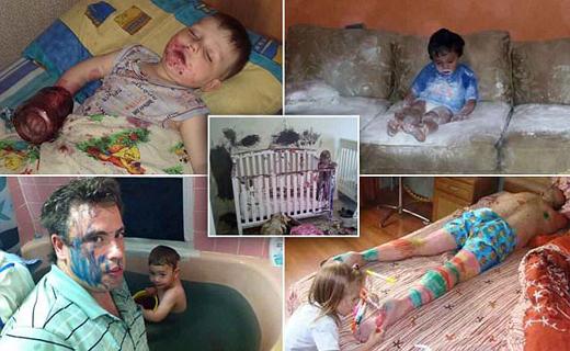 شیطنت بامزه کودکان+تصاویر