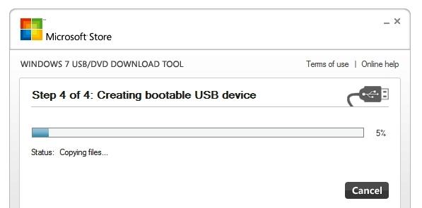 نصب ویندوز از طریق USB Flash + آموزش تصویری