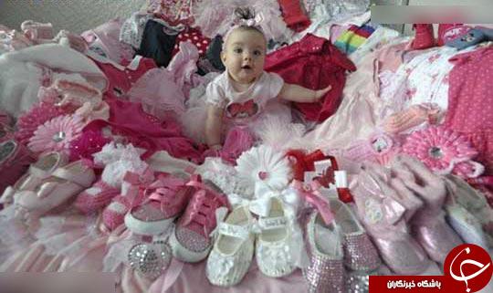 ستاره شدن دختری کوچک در رسانه ها + عکس