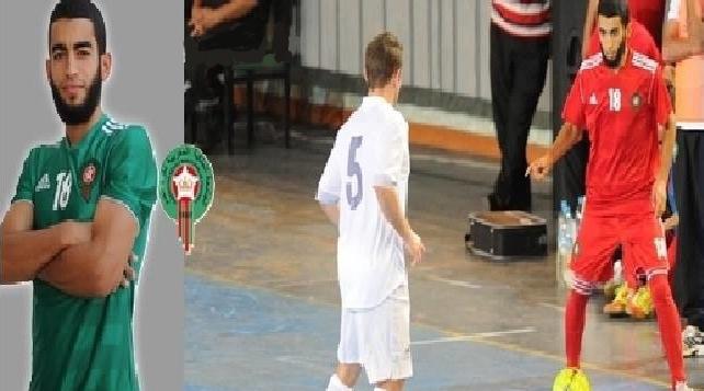 فوتبالیستی که در زمین ترور بازی می کند+ عکس