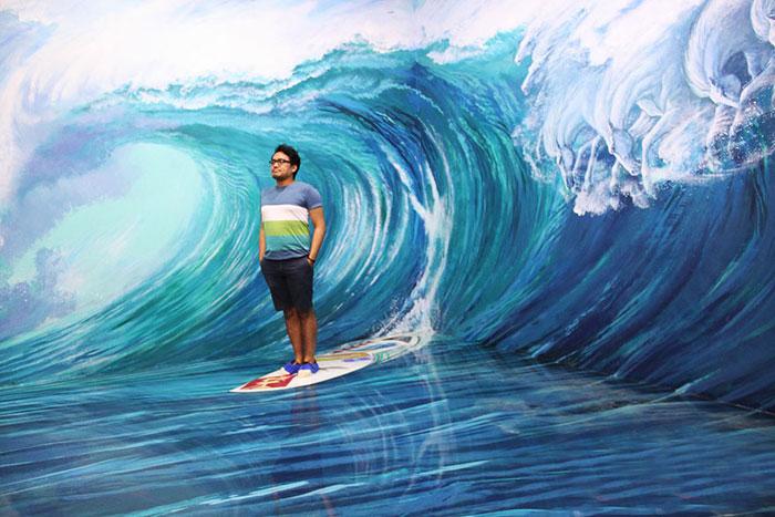 موزه هنرهای سه بعدی در فیلپین + تصاویر