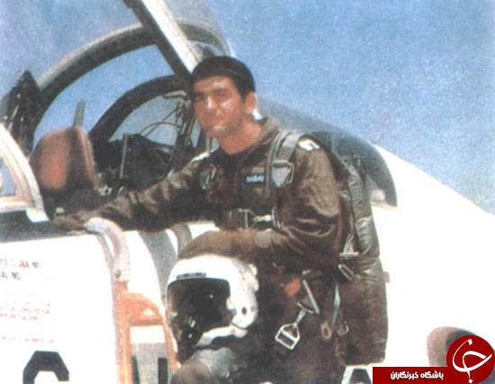 شهید خلبانی که مداحی میکرد + تصاویر