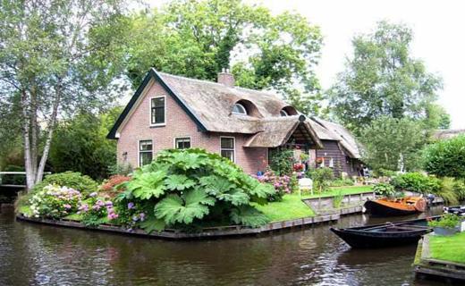 دهکده ای زیبا در هلند+ تصاویر
