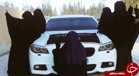 چرا خانمها جذب داعش میشوند؟ + تصاویر