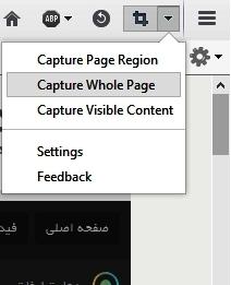 از تمامی صفحات وب به طور کامل عکس بگیرید + آموزش تصویری