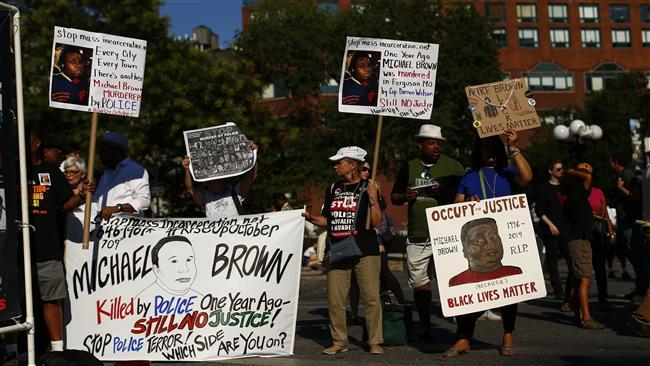 بازداشت دهها نفر در تظاهرات ضد نژادپرستی پلیس در نیویورک+ تصاویر