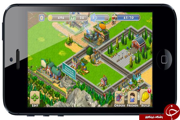 بازی مدیریت و ساخت شهر Township +دانلود
