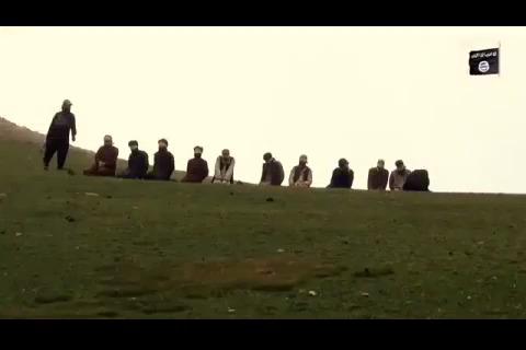 شیوه وحشتناک داعش در اعدام گروگان های خود