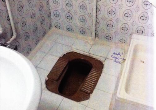 روایت خارجیها از توالتهای ایرانی + عکس