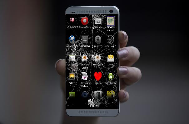 فقط با یک تکان، صفحه گوشی شما ترک برمیدارد+دانلود////////فعلا کار نشود/////