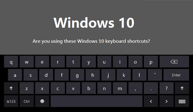 با کلید های ترکیبی کار کنید + آموزش