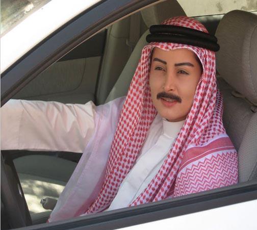 کلک عجیب زنان عربستانی برای رانندگی!+تصاویر