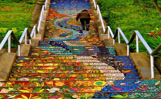 زیباترین پله ها در سراسر دنیا+ تصاویر