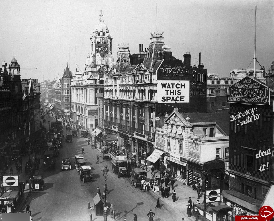متروی لندن یک و نیم قرن پیش + تصاویر