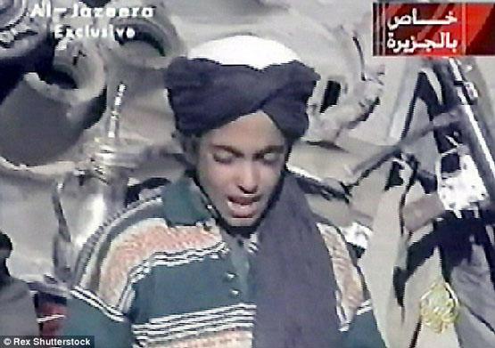 پسر بن لادن جا پای پدر گذاشت+ تصاویر