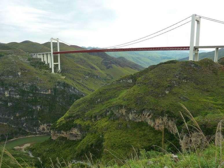 ساخت عجیب غریب پل در چین+ عکس