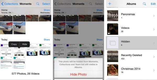 تصاویرتان را مخفی کنید + آموزش تصویری