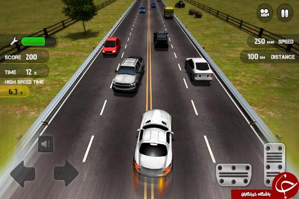 بازی رانندگی در شهر +دانلود