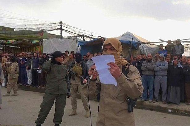 سنگسار 5 زن عراقی توسط داعش +عکس