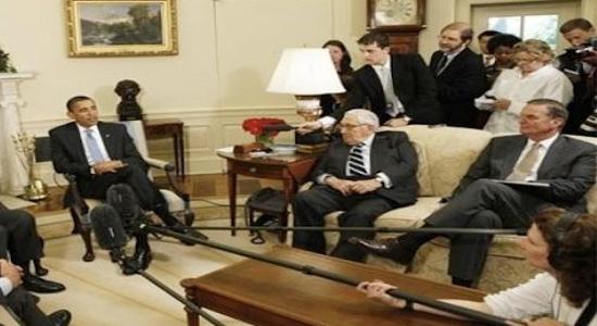 هنری کیسینجر و باراک اوباما