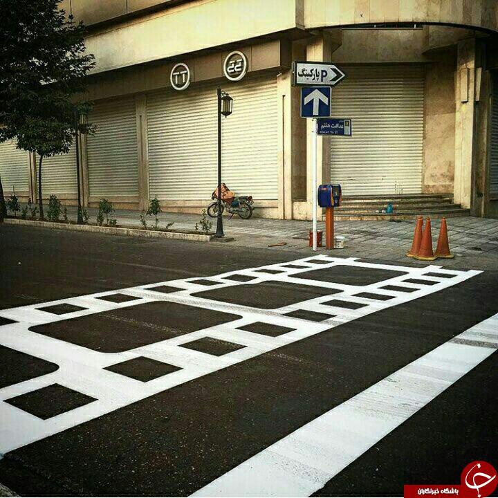3486357 219 - خط کشی های خلاقانه در خیابان+ تصاویر