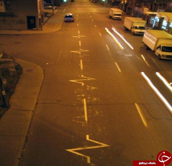 3486360 564 خط کشی های خلاقانه در خیابان+ تصاویر