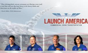 4 فضانورد از جان گذشته برای رویارویی با مرگ ناگهانی انتخاب شدند+ تصاویر