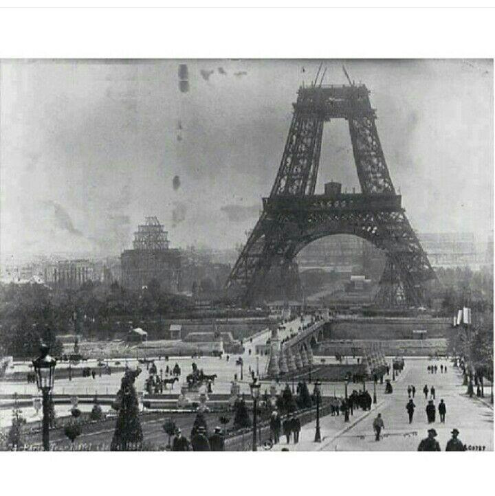برج ایفل از ساخت تا تکمیل+عکس