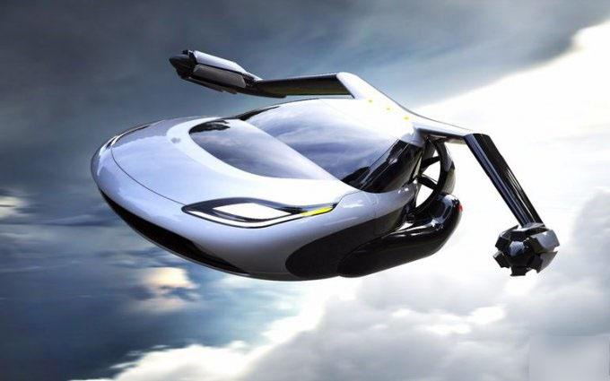 اتومبیلی که پرنده می شود