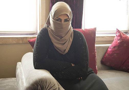 حَربه زن داعشی برای فرار از اعدام + ع کس