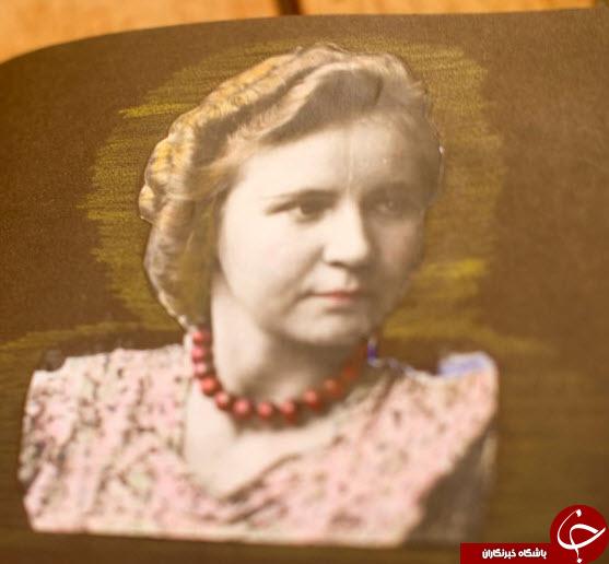 زنی که پیش مرگ هیتلر بود+تصاویر