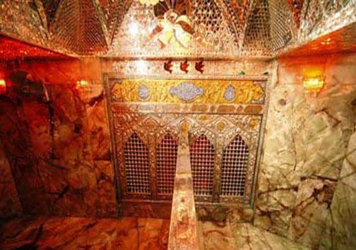 تصاویر دیدنی از داخل ضریح منور امام حسین(ع)