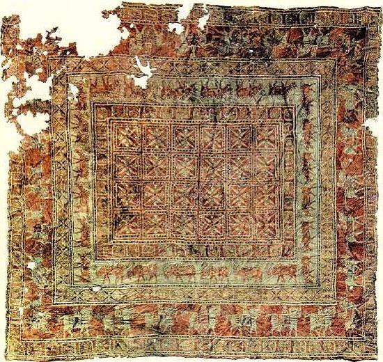 قدیمی ترین فرش جهان در دوران هخامنشی