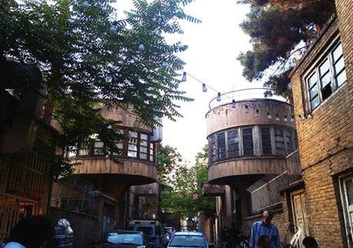 متفاوت ترین کوچه تهران+ عکس