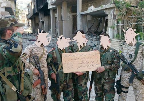 جشن تولد «سید حسن نصرالله» در جبهه نبرد و خانه پدری +عکس