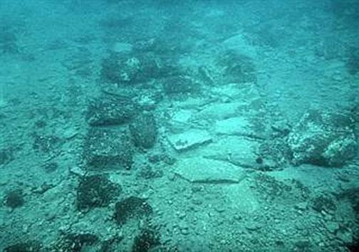 بهشت باستان شناسان: دهکده یونانی مدفون در کف اقیانوس +تصاویر