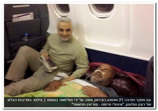 تصاویر استثنایی قاسم سلیمانی در روزنامه های اسرائیل