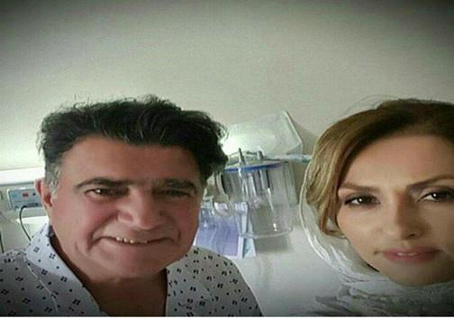 استاد شجریان و همسرش در بیمارستان + عکس