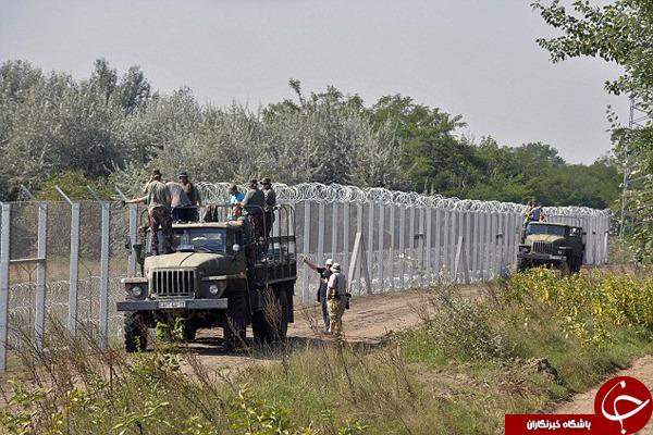 وضعیت دلخراش مهاجران در مجارستان +تصاویر