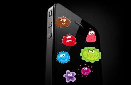 نگاهی به معروفترین میکروبهای روی تلفن همراه/////// در حال کار