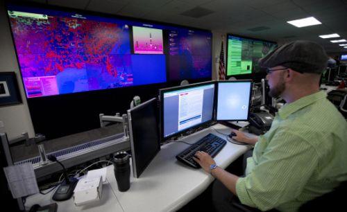 مرکز محرمانه عملیات سایبری ایالات متحده امریکا ///در حال کار////دست نزنید!