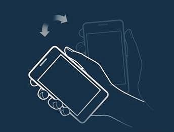 تلفن همراهتان را تکان دهید تا قفل شود+ آموزش