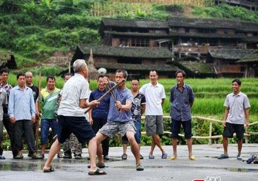 اهالی این روستا رزمی کار هستند