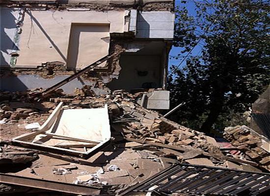ساختمان دو طبقه مسکونی در شرق تهران فرو ریخت + تصاویر