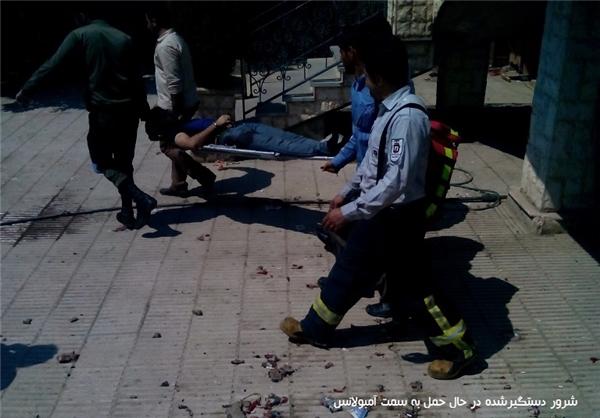 درگیری مسلحانه شرور معروف و پلیس در نزدیکی تهران + تصاویر