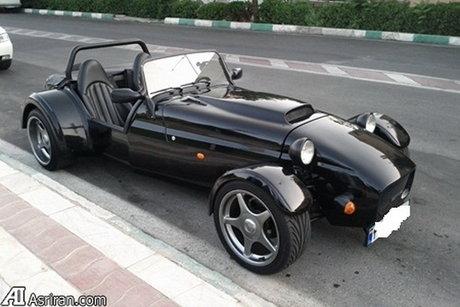 فروش یک خودروی متفاوت در تهران + تصاویر