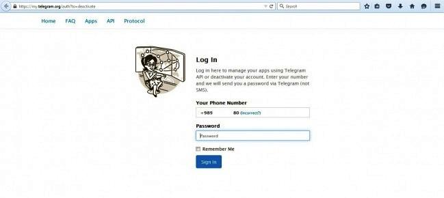آکانت تلگرام خود را پاک کنید + آموزش تصویری